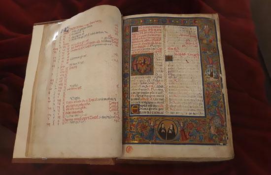 フィレンツェ・ラウレンツィアーナ図書館に残る写本
