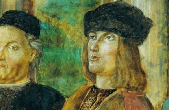 アルド・マヌーツィオのフレスコ画