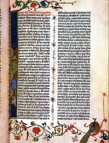 ゴシック体で印刷された書物