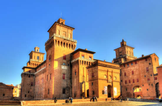 ルネサンスの歴史では欠かせないエステ家の本拠地フェッラーラ